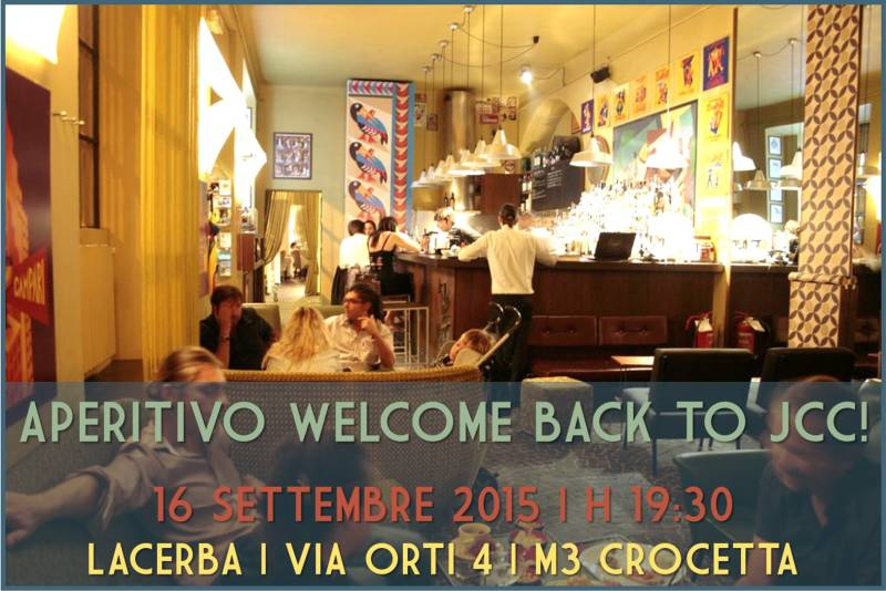 aperitivo jcc assosvezia networking welcome back settembre 2015