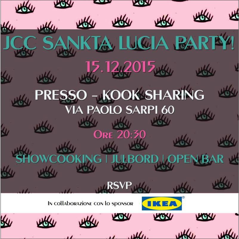 santa lucia party jcc assosvezia tradizione svedese