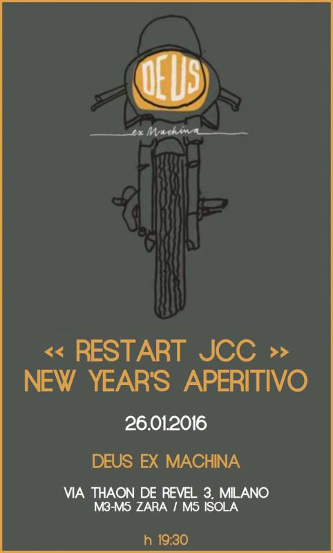 restart jcc assosvezia aperitivo networking new year 2016