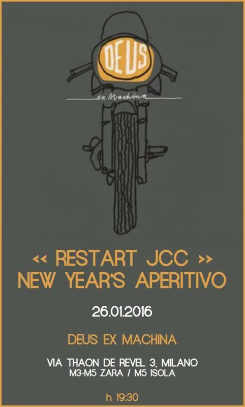restart jcc assosvezia aperitivo networking new year 2016