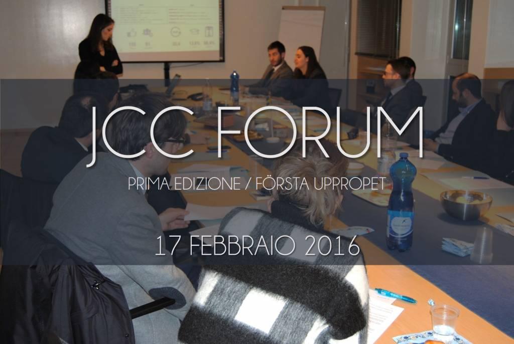jcc assosvezia forum riunione 17 febbraio 2016