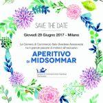 assosvezia camera di commercio italo svedese eventi aperitivo midsommar terza edizione networking cultura 29 giugno 2017
