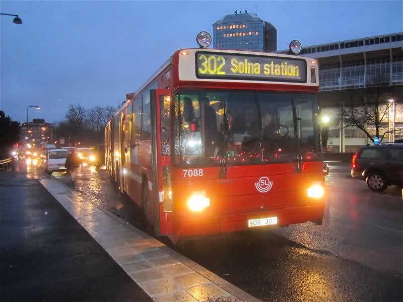 rassegna stampa svedese assosvezia grande fratello volante riduzione pericoli autisti bus trasporti arriva Solna microtelecamere