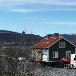 rassegna stampa svedese assosvezia sradicamento kiruna spostamento rilocazione miniere di ferro inizio