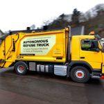 rassegna stampa svedese assosvezia rifiuti volvo smaltimento smart city camion self-driving Göteborg immondizia