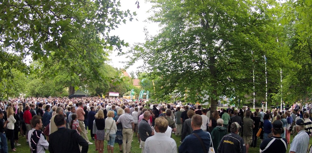 rassegna stampa svedese assosvezia festival democrazia visby gotland Almedalsveckan vetrina politica seminari workshop conferenza stampa
