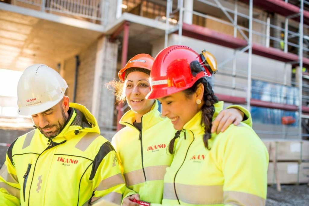 rassegna stampa svedese assosvezia falegname donne Svenskt Näringsliv tecnici produzione campagna Ikano Bostad lavoro