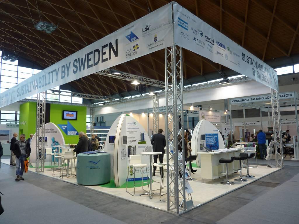 ecomondo 2017 business sweden padiglione nordico camera commercio italo svedese assosvezia innovation norway norvegia