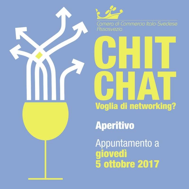 chit chat voglia di networking camera di commercio italo-svedese assosvezia 5 ottobre 2017 aperitivo