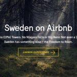 rassegna stampa svedese assosvezia svezia airbnb visit sweden campagna promozione turistica libertà di girovagare free to roam