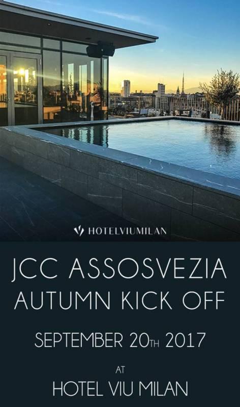 jcc assosvezia camera di commercio italo svedese young professionals autumn kick off hotel viu milan 20 settembre 2017