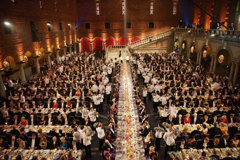 rassegna stampa svedese assosvezia cerimonia cena gala nobel stoccolma famiglia reale
