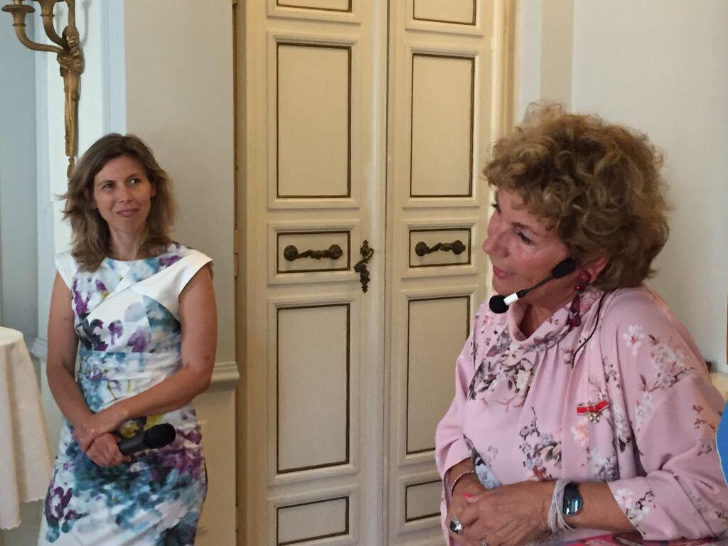 6 giugno 2018 nationaldagen festa nazionale svedese ambasciata svezia italia  amelia adamo giornalista imprenditrice be more in the land of less is more